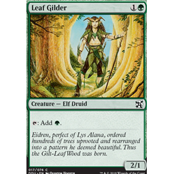 Magic löskort: Duel Decks: Elves vs Inventors: Leaf Gilder