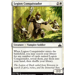 Magic löskort: Rivals of Ixalan: Legion Conquistador