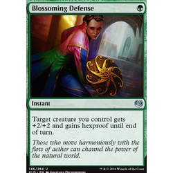 Magic löskort: Kaladesh: Blossoming Defense